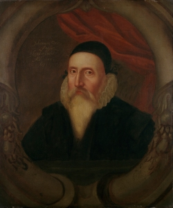 John Dee Ashmolean Portrait, Artist Unknown c1594 large version - credit - © Ashmolean Museum, University of Oxford 1000px