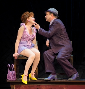 Sophie Thompson (Miss Adelaide) and David Haig (Nathan Detroit) in Guys and Dolls - photo by Paul Coltas