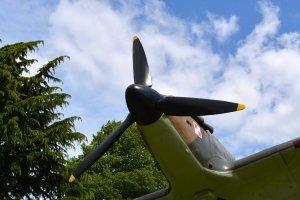 A spitfire's nose PHOTO PAUL LINDUS