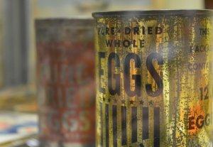 Dried Egg PHOTO PAUL LINDUS