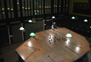 map room from above PHOTO Sandra Lawrence