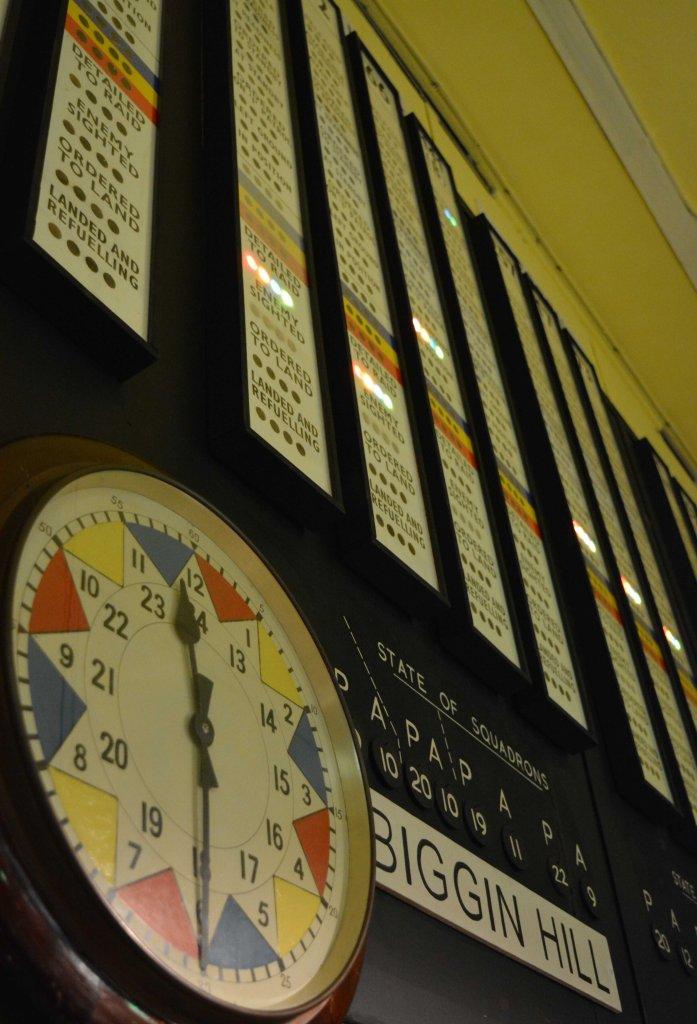 The clock PHOTO PAUL LINDUS