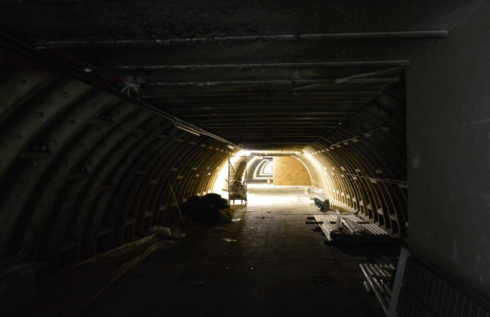 More disused tunnels
