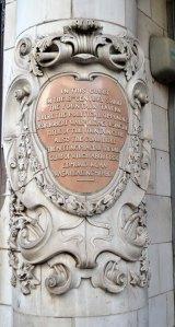 Savoy steps sign 1
