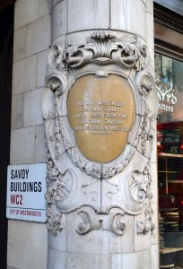 Savoy steps sign 2
