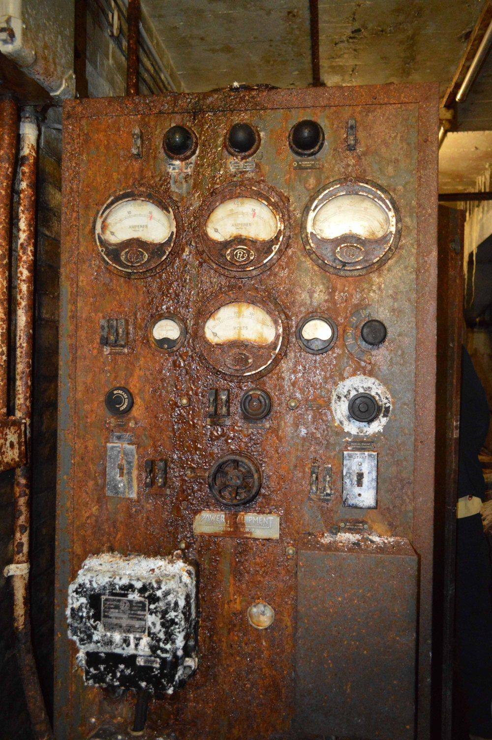 rusty dials